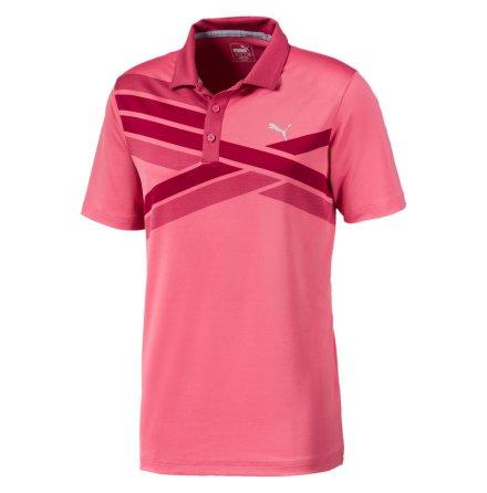 Puma Golf Alterknit Texture Polo Rapture Rose