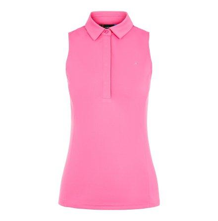 J Lindeberg Golf W Dena TX Jersey Pop Pink