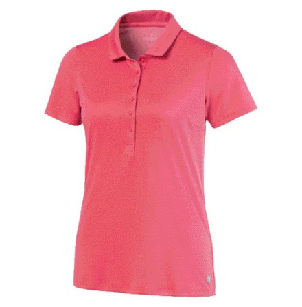 Puma Golf W Rotation Polo Rapture Rose