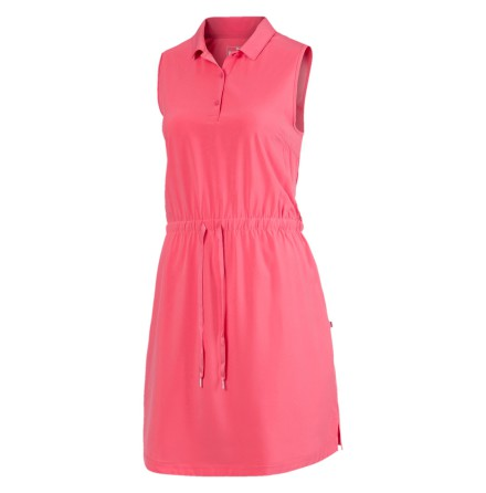 Golfklänning Puma Golf W Sleeveless Dress Rapture Rose