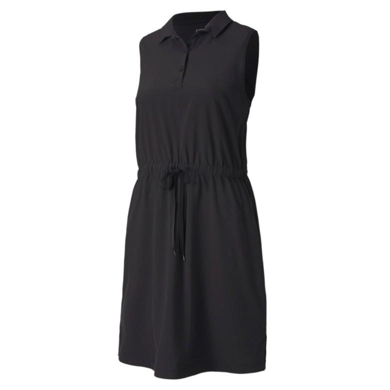 Golfklänning Puma Golf W Sleeveless Dress Svart