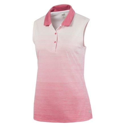 Puma Golf W Ombre Sleeveless Polo Rapture Rose