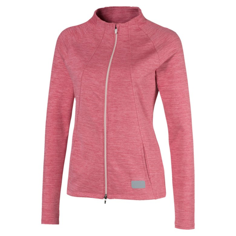 Puma Golf W Warm Up Jacket Rapture Rose
