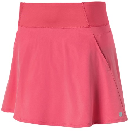 Puma Golf PWRSHAPE Solid Knit Skirt Rapture Rose