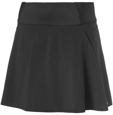 Puma Golf PWRSHAPE Solid Knit Skirt Black