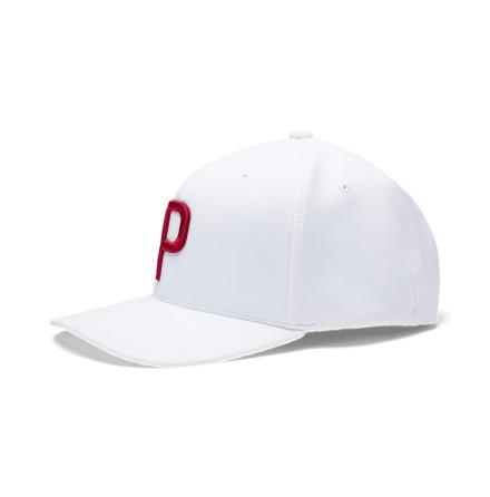 Puma Golf P110 Snapback Cap Vit/Röd