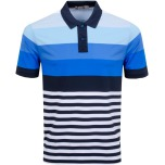 G/Fore Multi Stripe Polo
