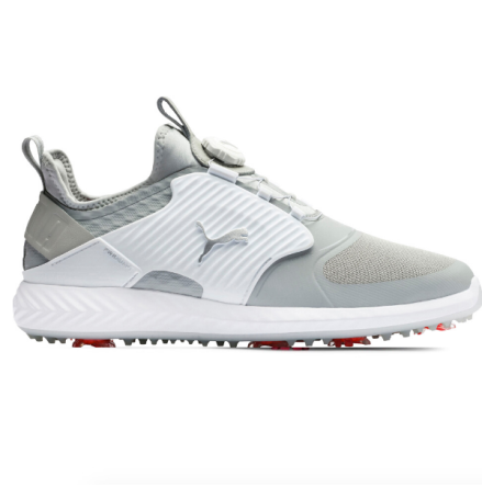 Golfskor Puma Golf Ignite PWRAdapt Caged Disc Vit