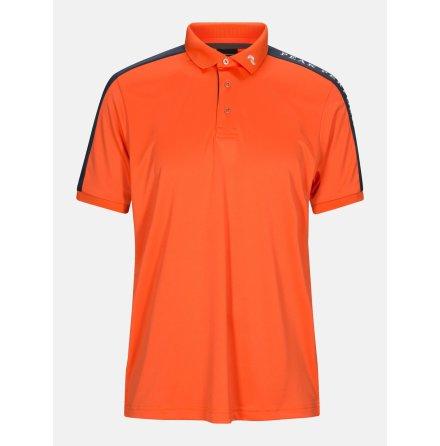 Peak Performance Golf Player Polo Aglow