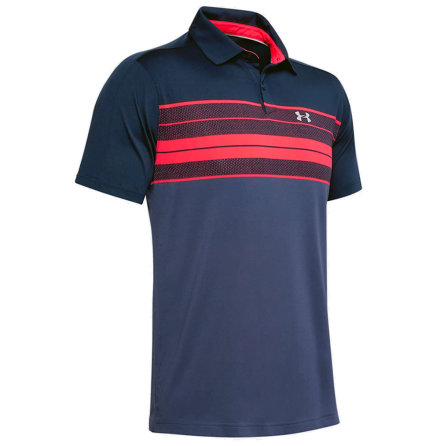 Under Armour Vanish Stripe Polo Navy