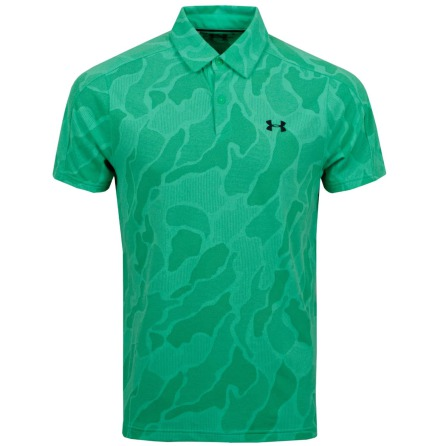 Under Armour Golf Vanish Jacquard Polo Green