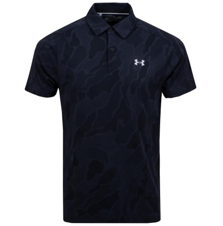 Under Armour Golf Vanish Jacquard Polo Svart
