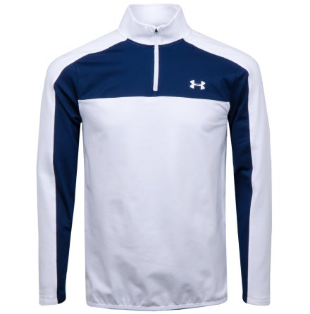 Under Armour Golf EU Midlayer 1/4 Zip White