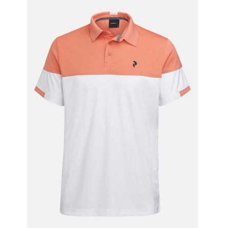 Peak Performance Golf Player Block Polo