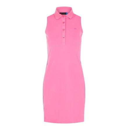 J Lindeberg Golf Ulli TX Jersey Pop Pink