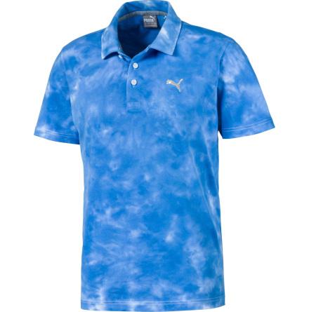 Puma Golf Haight Polo Ibiza Blue