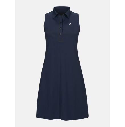 Golfklänning Peak Performance Trinity Dress Navy