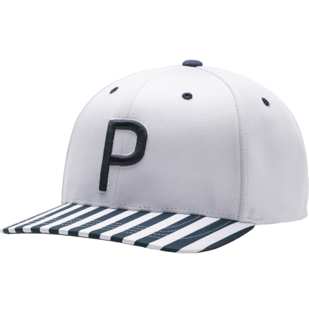 Puma Golf P110 Snapback Cap Stripes