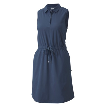 Golfklänning Puma Golf W Sleeveless Dress Dark Denim