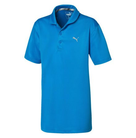 Puma Golf Essential Polo Junior Ibiza Blue