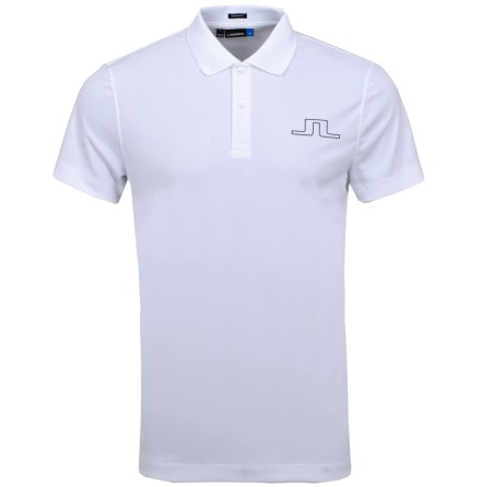 J Lindeberg Golf Alan Reg Fit Polo Vit