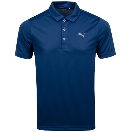 Puma Golf Rotation Polo Dark Denim