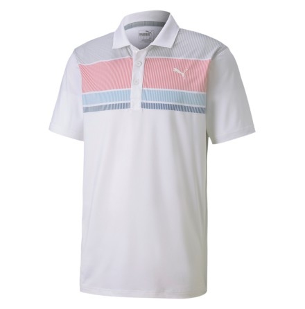 Puma Golf Road Map Polo Rapture Rose