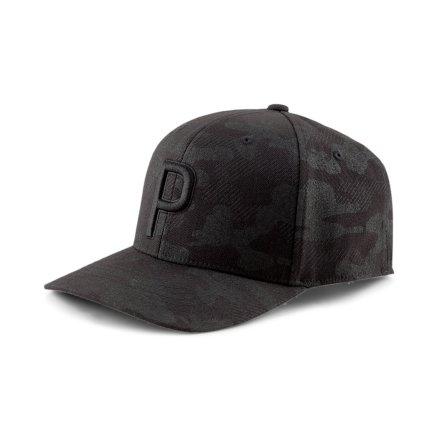 Puma Golf P110 Snapback Cap Camo Black