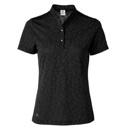 Daily Sports Uma Cap/S Polo Shirt Svart