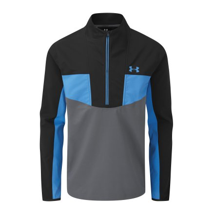 Under Armour Golf Storm Windstrike 1/2 Zip Blue