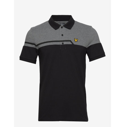Lyle & Scott Golf Block Polo