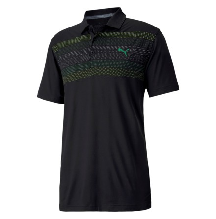 Puma Golf Road Map Polo Black