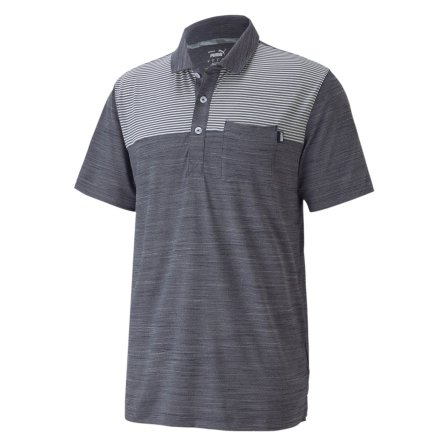 Puma Golf CloudSpun Pocket Polo Marin