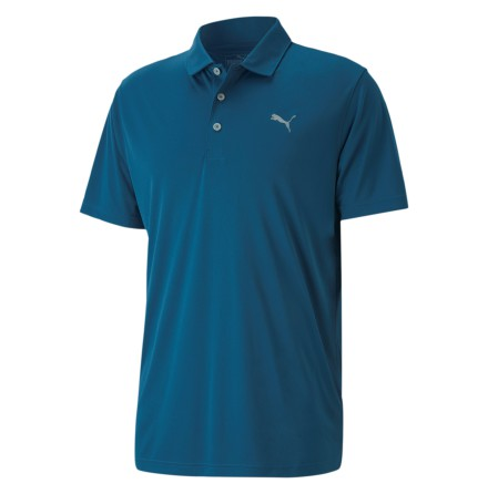 Puma Golf Rotation Polo Digi Blue