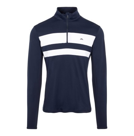 J Lindeberg Golf Bran Midlayer Navy