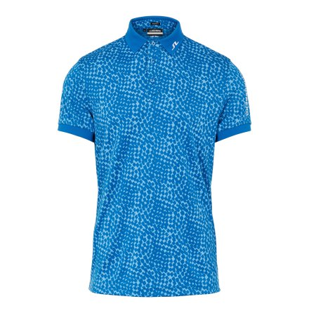 J Lindeberg Golf Tour Tech Graphic Polo