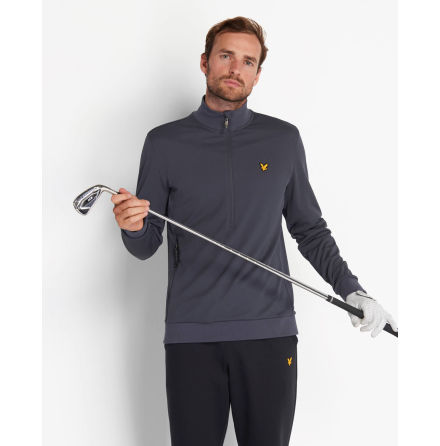 Lyle & Scott Windshield 1/2 Zip Grey