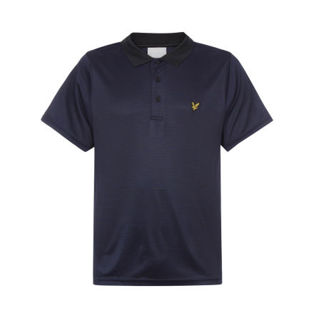 Lyle & Scott Microstripe Polo Navy