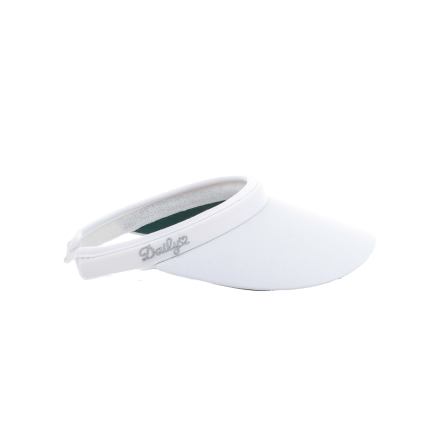 Daily Sports Miracle Clip Visor White
